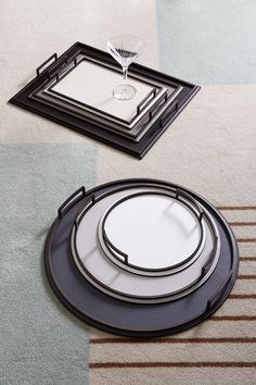 LINLEY Evolution Trays #Leather #Trays #HomeAccessories