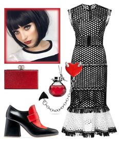 """""""Untitled #1140"""" by sunnydays4everkh ❤ liked on Polyvore featuring Marni, Alexis, Bling Jewelry, Van Cleef & Arpels and Judith Leiber"""