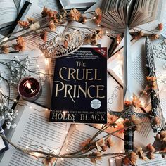 The Cruel Prince by Holly Black is everything you could hope for in a story. Read this and read it now! I Love Books, Books To Read, My Books, Library Books, Book Aesthetic, Autumn Aesthetic, Holly Black, Book Memes, Foto Art