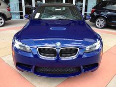 2013 BMW M3 Interlagos Blue