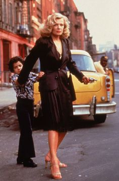 John Adames and Gena Rowlands in Gloria directed by John Cassavetes, 1980 >>> Great movie. Fierce and unrelenting, with a little boy who was learning in the worst ways possible what it means to be a man.