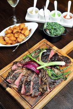 Spit-Roasted Lamb, and premium Bistecca Wagyu Roast Beef and Roast Turkey