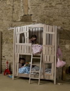 Bespoke Handcrafted Tree House Bunk Bed