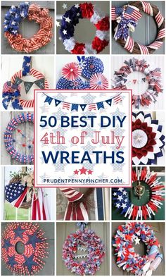 50 best DIY of July Best DIY July Wreaths # July # July # July July decor: DIY patriotic wreath (video)July burlap wreathHow to make Fourth Of July Decor, 4th Of July Decorations, 4th Of July Party, July 4th, 4th Of July Wreaths, 4th Of July Ideas, Holiday Decorations, Summer Crafts, Holiday Crafts