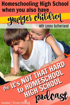 Get tips and strategies for homeschooling high school while still keeping track of the youngers from Lynna Sutherland, a veteran homeschool mom of eight children! High School Curriculum, Homeschool Curriculum, Homeschooling, High School Schedule, High School Organization, How To Juggle, High School Years, Parenting Teens, Learn To Read