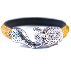 Snake Clasp Bangle Gold, $45, now featured on Fab.