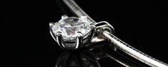 "InLumen Diamantanhänger ""Paris"" mit Silberkette Paris, Stud Earrings, Paris France"