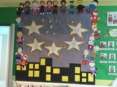 Superhero class charter. Protecting our rights