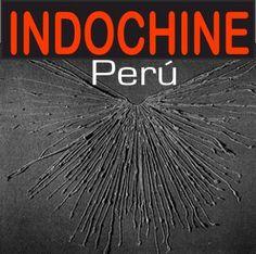 El primer logo oficial de Indochine Perú