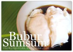 Bubur Sumsum (Indonesian Food) -- always reminds me of ramadhan...