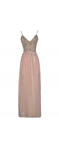 Another Dimension Textured Embellished Open Back Maxi Dress in Beige  www.lilyboutique.com