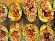 loaded baked avocados @Tina Goodman