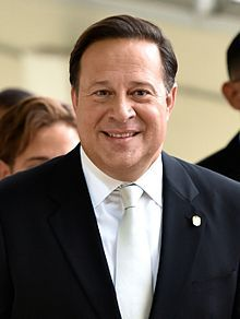 Government: This is a picture of Juan Carlos Varela, the president who makes the laws in Panama. Panama's constitution states that everyone has freedom of speech and religion. Also You must be 18 years of age or older to vote unlike the US.