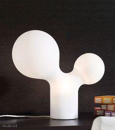 Eero Aarnion Tuplakupla -pöytävalaisin / Tuplakupla table lamp designed by Eero Aarnio Finland Interior Decorating, Interior Design, Light Of Life, Love Design, Interior Inspiration, Light Bulb, Cool Designs, Furniture Design, Bubbles