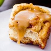Caramel Apple Cinnamon Rolls-31
