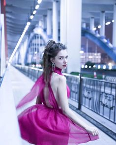 Image may contain: one or more people, bridge, outdoor and closeup Anastasia, Hangzhou, Aesthetic Women, Brunette Girl, People Photography, White Girls, Stylish Girl, Bra Tops, Pretty Face