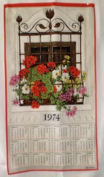 Kalenteripyyhe 1974