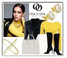 """""""SHOP - One by One Jewellery"""" by ladymargaret ❤ liked on Polyvore featuring M&Co, Neil Barrett and GUESS"""