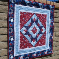 Quilts of Valor Wall Hanging by azgail, via Flickr