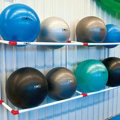 Znalezione obrazy dla zapytania fitness ball rack
