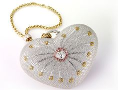 The Most Expensive Women Handbag In The World.  MOUAWAD $3.8 Million dollars. Gorgeous!!