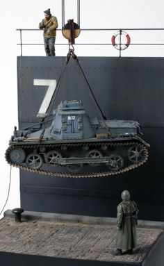 """Norway 1940 : SdKfz 265 Panzerbefehlswagen"" 1/35 scale. By Roger Hurkmans. WW2 German command tank. #diorama #scale_model http://www.network54.com/Forum/110741/message/1248348031/Norway+1940"