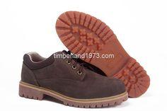 2017 New Timberland Mens Basic Oxford Waterproof Low shoes Dark Brown $ 80.00