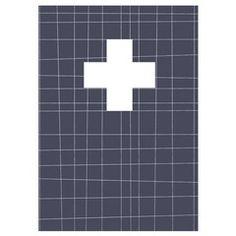 Print Grid Cross Print