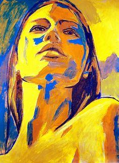 "Saatchi Art Artist Helena Wierzbicki; Painting, ""Evocative mood"" #art"