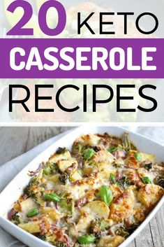 Need some inspirations for busy days? Need some healthy keto recipes with basic ingredients? Look no further, the list of keto casserole dishes below will make you smile! #keto #ketodiet #ketogenicdiet #ketorecipes #casserolerecipes #diytherainbows