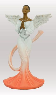 Graceful Angels: Sash Angel in Orange