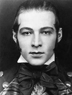 Rudolf Valentino. My mom and her friends loved him