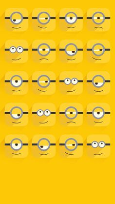 Minions/wallpapers Minion Wallpaper Iphone, Disney Phone Wallpaper, Emoji Wallpaper, Best Iphone Wallpapers, Apple Wallpaper, Wallpaper Quotes, Cute Wallpapers, Funny Minion Memes, Cute Minions