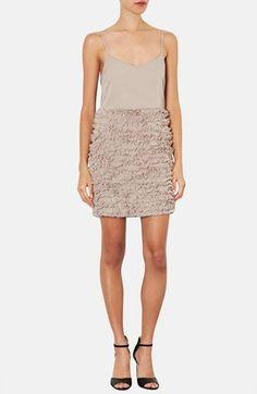 Topshop Ruffled Chiffon Dress  @Nordstrom http://rstyle.me/n/dsj3ynyg6