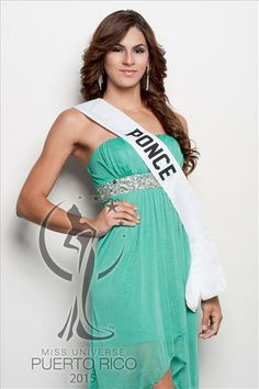 Miss Universe PONCE, Frances Cintrón. #MissUniversePuertoRico2015 #MUPR2015 #MissPonce #FrancesCintron