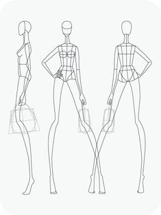 Mannequin Template for Fashion Design - Mannequin Template for Fashion Design , Fashion Mannequin Drawing at Getdrawings Fashion Design Sketchbook, Fashion Design Drawings, Fashion Sketches, Fashion Drawing Tutorial, Fashion Figure Drawing, Fashion Figure Templates, Fashion Design Template, Mannequin Drawing, Portfolio Fashion