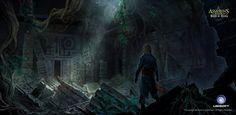 Assassin's Creed IV Black Flag Concept Art by Ivan Koritarev