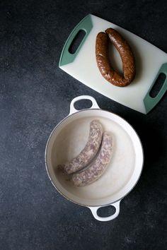 How to Cook Fresh Polish Sausage Fresh Polish Sausage Recipe, Smoked Kielbasa Recipe, Sausage Sauerkraut, Salami Recipes, Slow Cooker Recipes, Cooking Recipes, Sausage Casserole, Polish Recipes, Polish Food