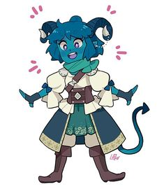 """Lisa Harald on Twitter: """"I asked my brother what to draw and he said Jester so here's Jester! #CriticalRole… """""""