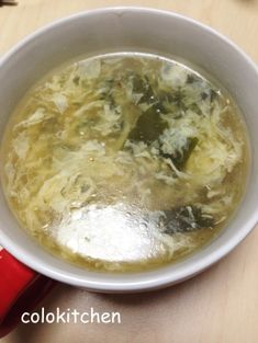 「とろっと卵とワカメの中華スープ」おうち焼肉や、中華料理のときにあっさり中華スープ。【楽天レシピ】