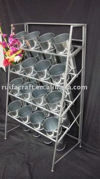 Metal Flower Display Stand