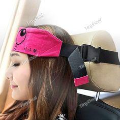 Entraîner souple Seat Belt Sommeil Masque pour les yeux réparer tête sur le…