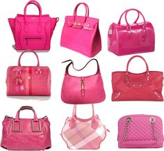 All About Pink By Btizzabratinela On Polyvore Purses And Bags