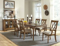 Traditional Dining Room Design Photo by Wayfair