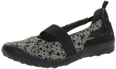 Jambu Women's Delilah Mary Jane Flat,Black/Charcoal,9 M US Jambu http://www.amazon.com/dp/B00E41U146/ref=cm_sw_r_pi_dp_qQFQtb0Y1V8X01DV  A great shoe for walking around town, with a lacey touch that I love.