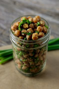 Cool Ranch Roasted Chickpeas | Vegan Yack Attack Made theses and the kids downed them. Very yummy!