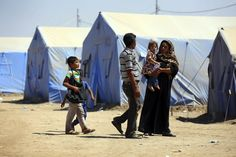 """Mc., 2 JUL 2014   DESPLAZADOS EN IRAK - """"ONU cifra en un 1,2 millones los desplazados en Irak a causa del conflicto""""."""