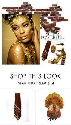 """""""Gold and Brown"""" by creartebypatty ❤ liked on Polyvore featuring Gucci"""