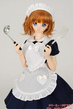 Frying pan and apron set |!! Dorimyi ☆ DD blog