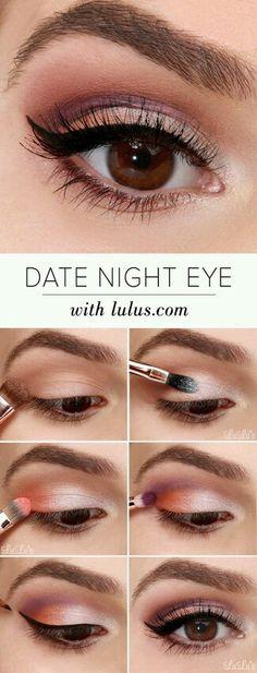 Date night eye.